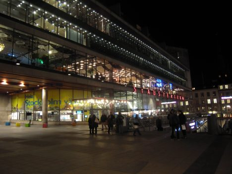 Kulturhuset, Stockholm, LED