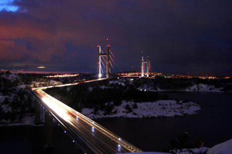 Tjörnbron, Stenungsund